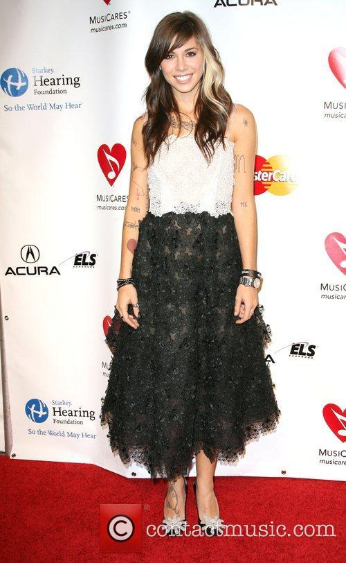 Christina Perri 2011 MusiCares Person of the Year...