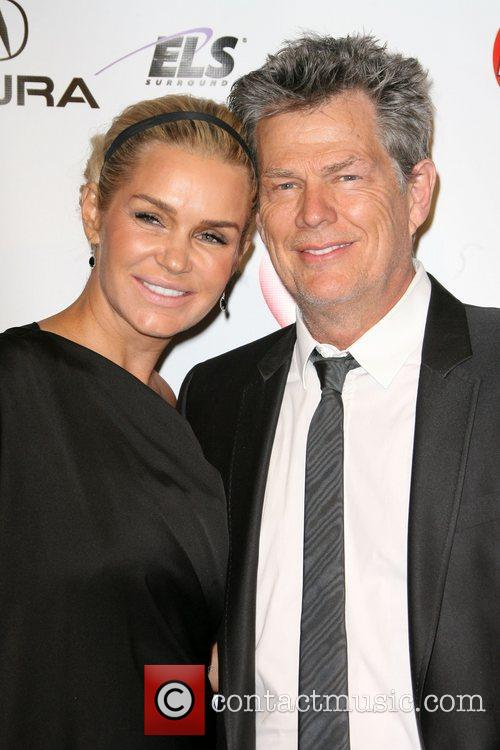 David Foster and Yolanda Hadid 2011 MusiCares Person...