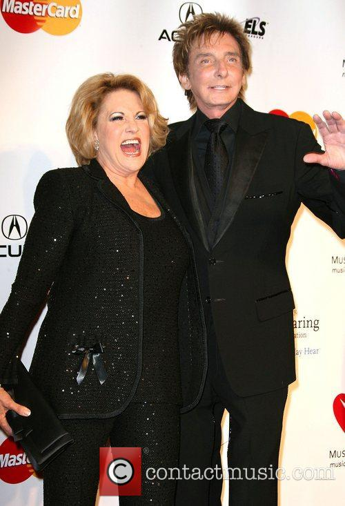 Lorna Luft and Barry Manilow  2011 MusiCares...