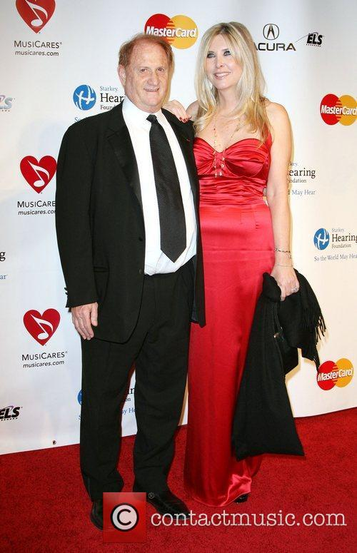 Mike Medavoy and wife Irena Ferris 2011 MusiCares...
