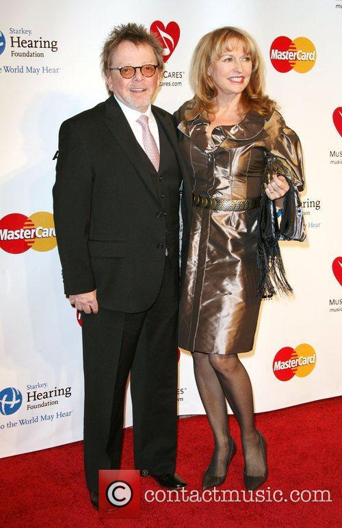 Paul Williams and Mariana Williams 2011 MusiCares Person...