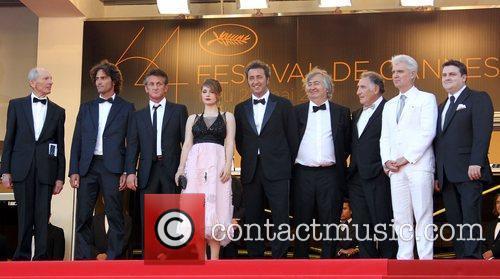 Liron Levo, David Byrne, Judd Hirsch and Sean Penn 3