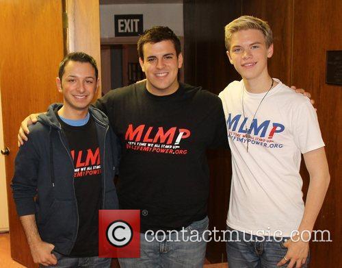 Steven Mango, Michael MacRae and Kenton Duty Celebrities...