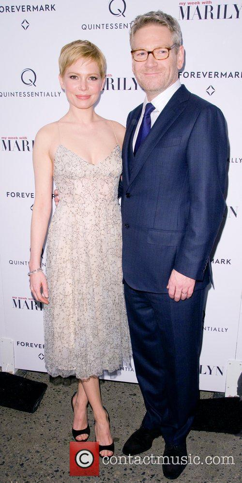 Michelle Williams and Kenneth Branagh 2