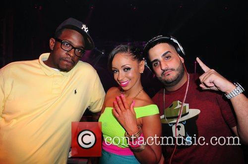 DJ Bulletproof, Mya and DJ Affect Mya's birthday...
