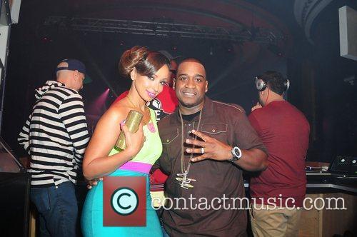 Mya and DJ LS One  Mya's birthday...