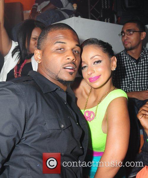 NFL Player Hood and Mya Mya's birthday celebrations...