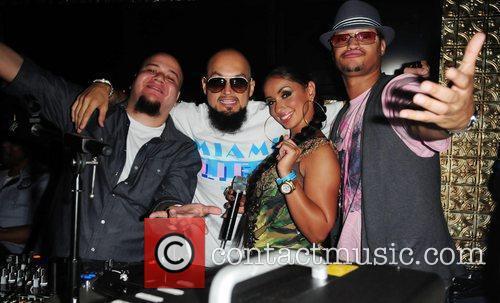DJ Money, Cool, Mya and Lorenzo Ice Tea...