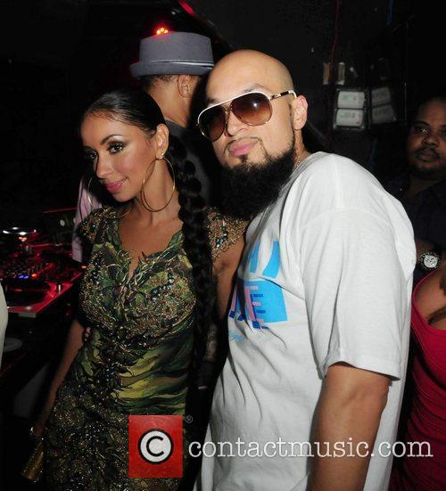 Singer Mya and Cool Cool's birthday party at...