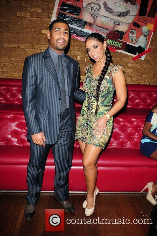 Rob Peoples and Singer Mya Cool's birthday party...
