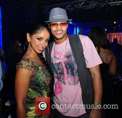Singer Mya and Lorenzo Ice Tea Thomas Cool's...