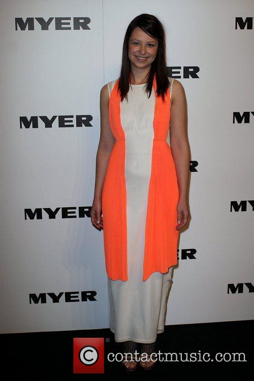The Myer department store holds its Spring/Summer 2011...