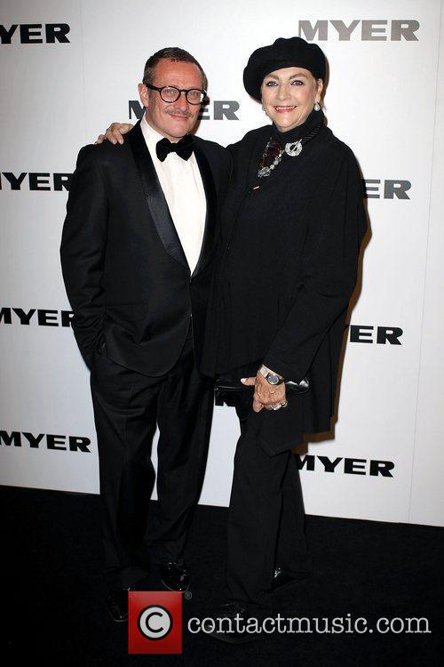 Jayson Brunsdon and Maggie Tabberer The Myer department...