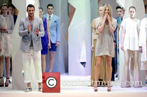 Jennifer Hawkins and Kris Smith Myer Department Store...