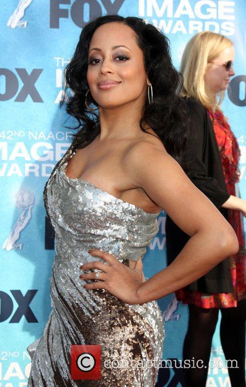 Essence Atkins  42nd NAACP Image Awards at...