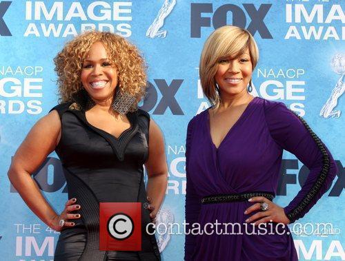 Mary Mary 42nd NAACP Image Awards at The...
