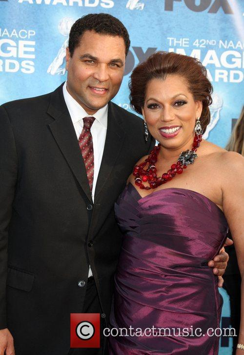Rolanda Watts and Guest 42nd NAACP Image Awards...
