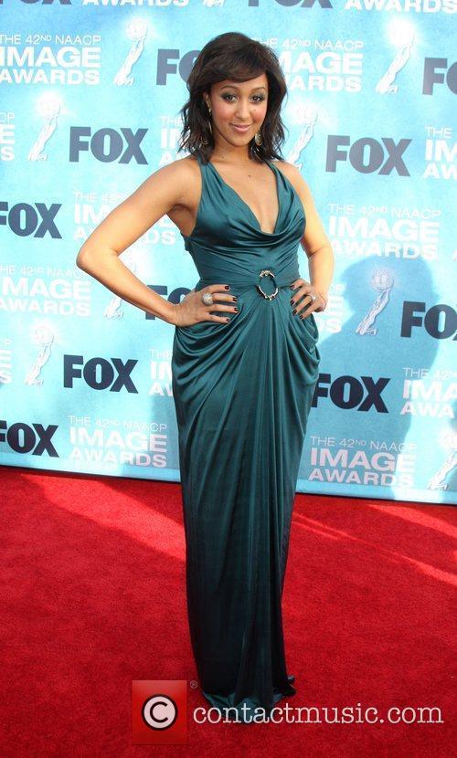 Tamara Mowry 42nd NAACP Image Awards at The...