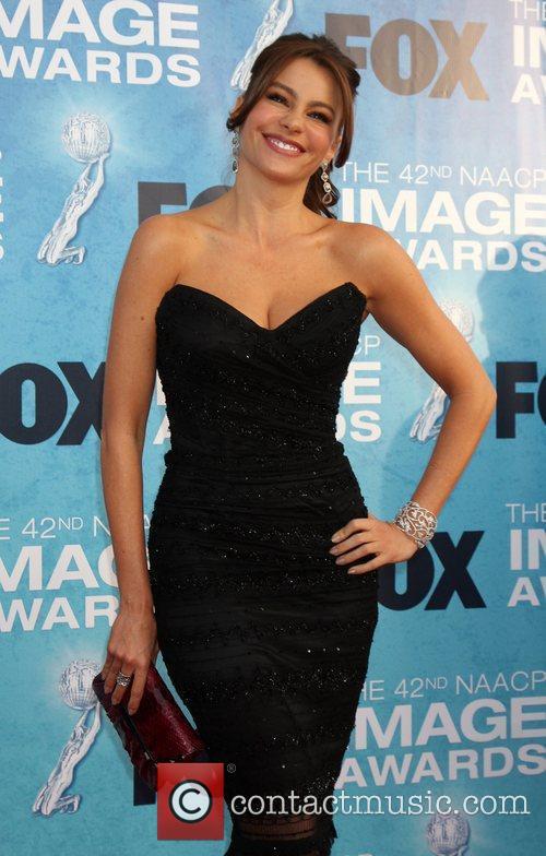 Sofia Vergara  42nd NAACP Image Awards at...