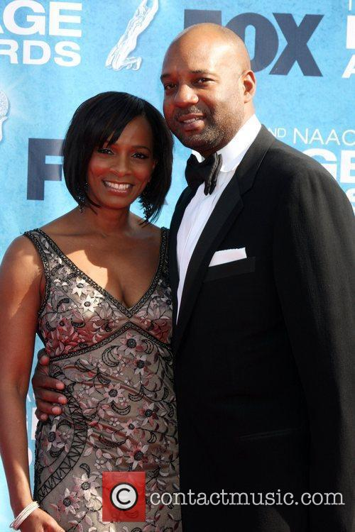 Vanessa Bell Calloway and Guest 42nd NAACP Image...