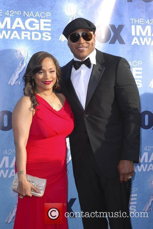 Simone Smith and LL Cool J 42nd NAACP...