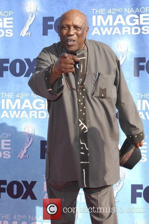 Louis Gossett Jr. 42nd NAACP Image Awards at...