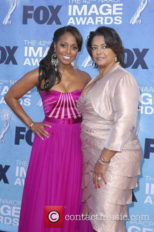 Keshia Knight Pulliam and mother 42nd NAACP Image...