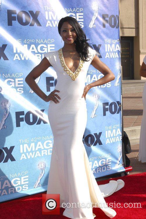 Osas Ighodaro 42nd NAACP Image Awards at The...