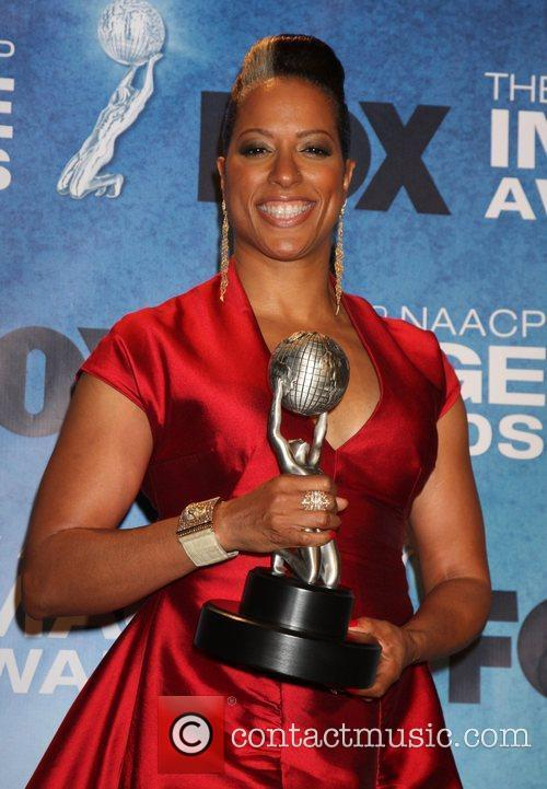 Millicent Shelton  42nd NAACP Image Awards at...