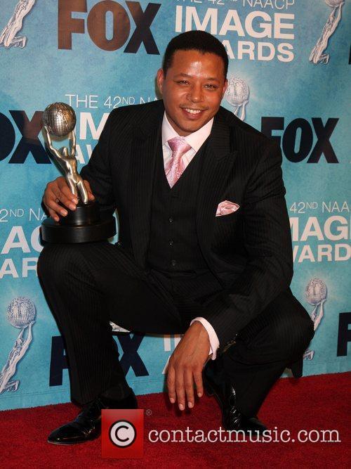 Terrance Howard  42nd NAACP Image Awards at...