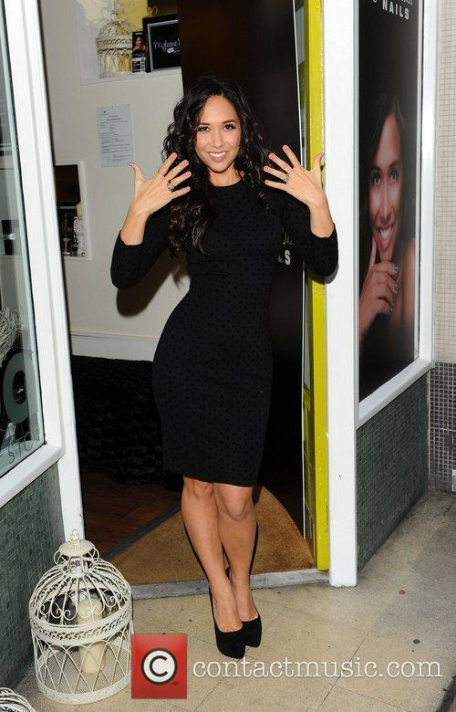 Myleene Klass Nails pop up boutique launch on...