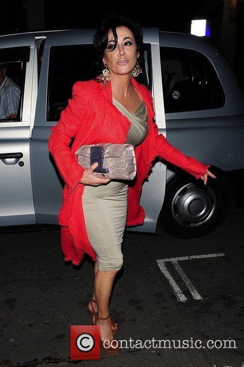 Nancy Dell'Olio arrives at C London restaurant in...
