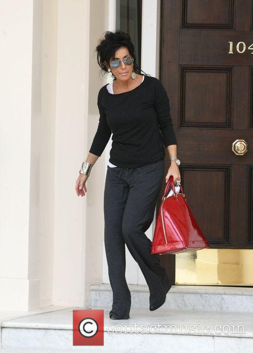 Nancy Dell'Olio is seen leaving a medical building...