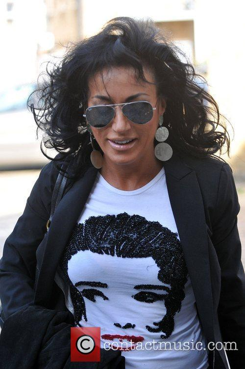 Nancy Dell'olio and Strictly Come Dancing 8