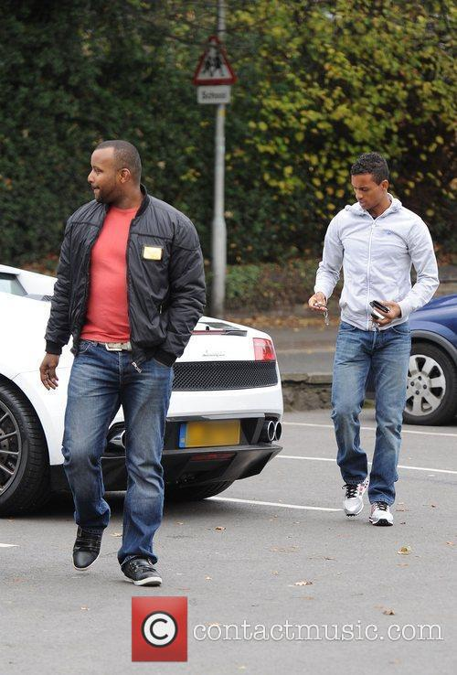 Luis Nani and a friend The Portuguese and...