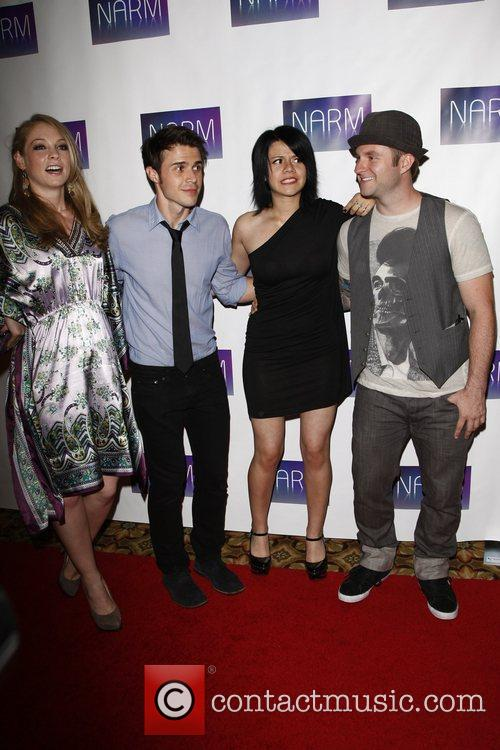 Kris Allen, Allison Iraheta and Blake Lewis