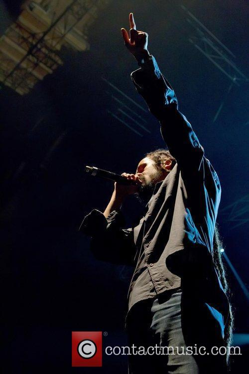 Damian Marley performing live at Pavilhao Atlantico on...