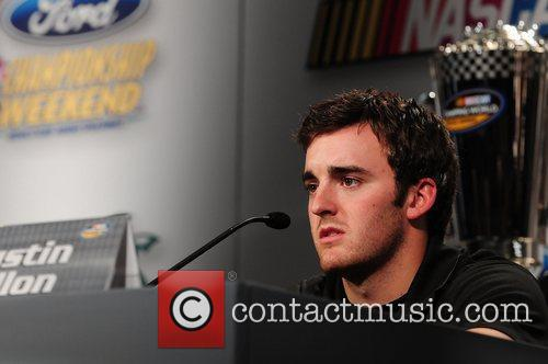Austin Dillon, driver of the #3 Bass Pro...
