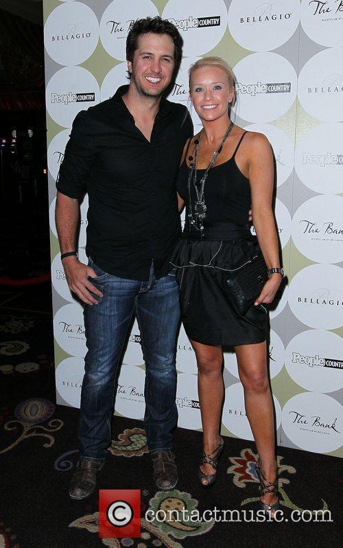 Luke and Caroline Bryan People Country Celebrates 'Nashville...