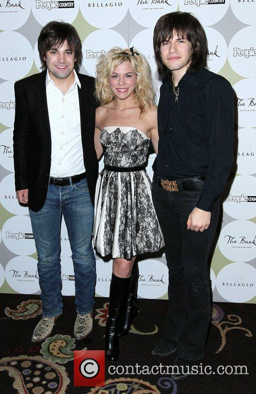 The Band Perry People Country Celebrates 'Nashville In...