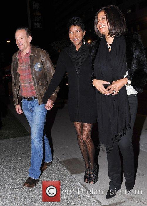 Natalie Cole arrives at BOA Steakhouse Los Angeles,...