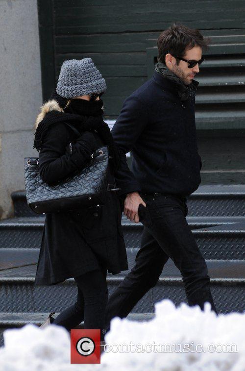Natalie Portman and Benjamin 9