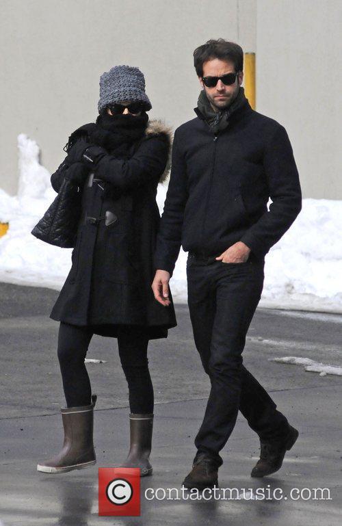 Natalie Portman and Benjamin 5