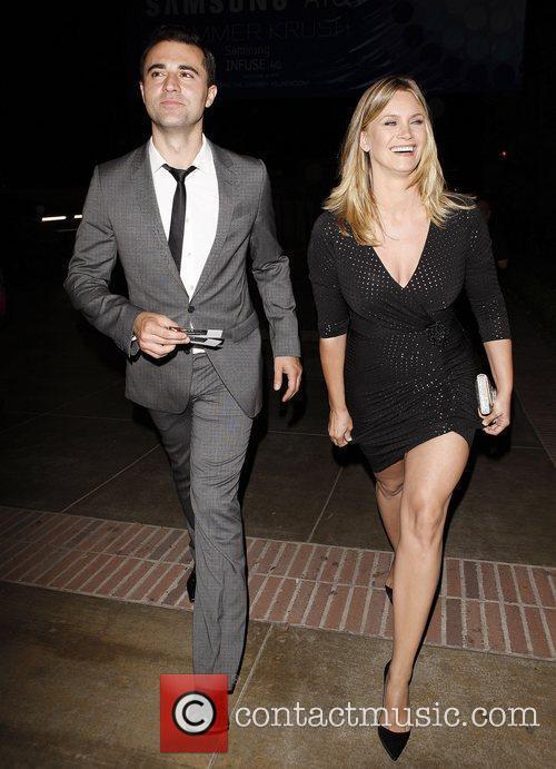 Natasha Henstridge and her husband Darius Campbell aka...