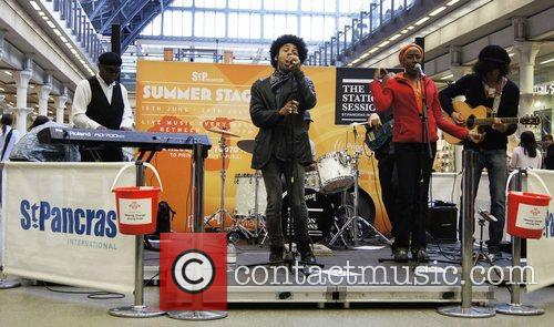Performing at the The Station Sessions Festival at...