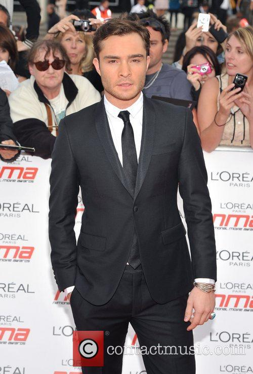 Ed Westwick National Movie Awards held at the...