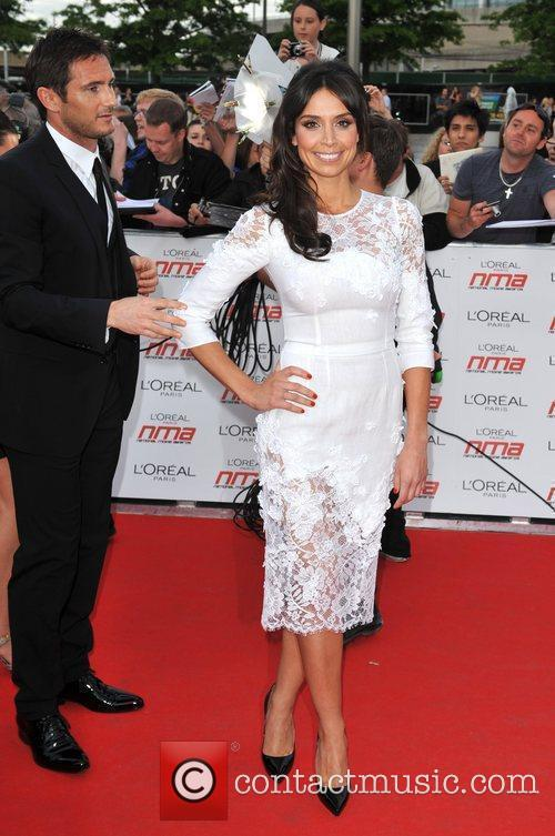 Frank Lampard and Christine Bleakley National Movie Awards...
