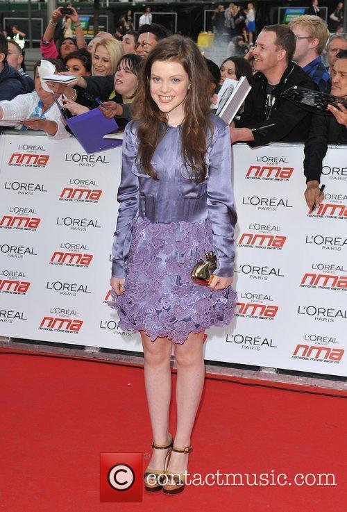 Georgie Henley National Movie Awards held at the...