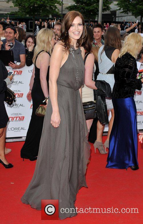 Mandy Moore National Movie Awards held at the...