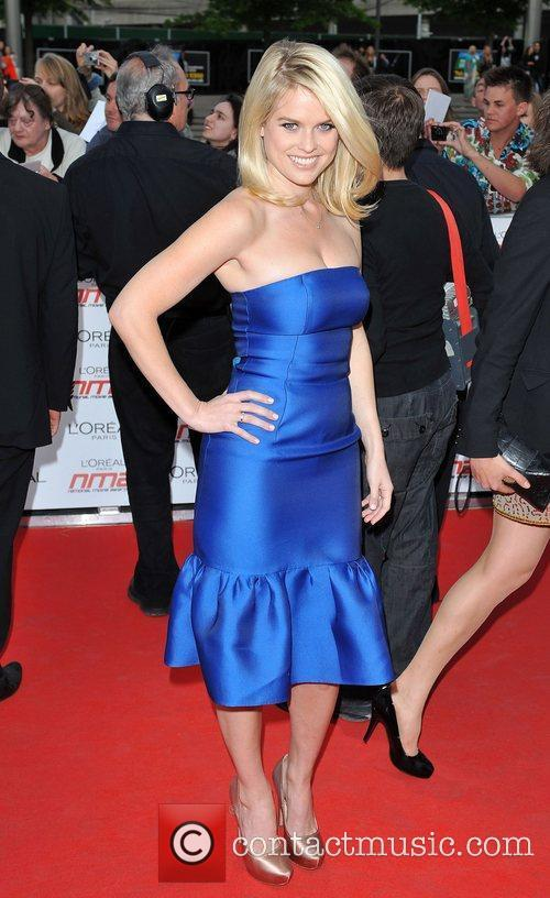 Alice Eve National Movie Awards held at the...